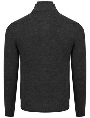 Old Boys Network Brinton Cardigan in charcoal