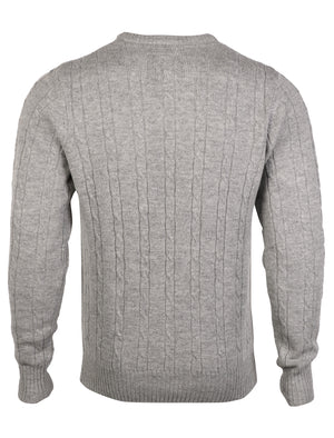 Lambs Wool Crew Neck Jumper