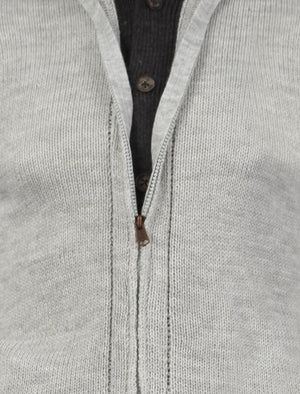 Old Boys Network Brinton Cardigan in grey