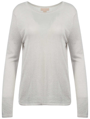 Plum Tree Bassey white Jumper