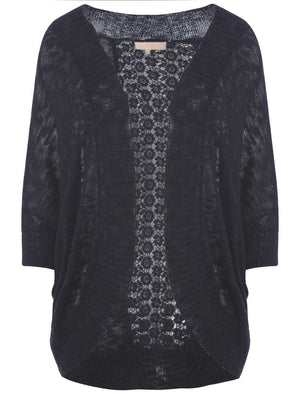 Plum Tree Grace navy cardigan