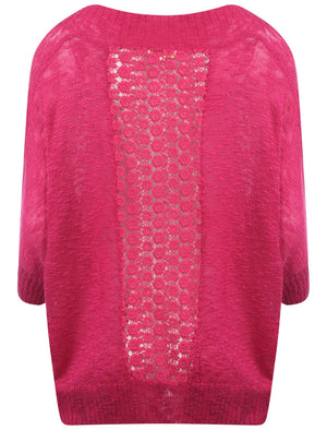 Plum Tree Grace pink cardigan