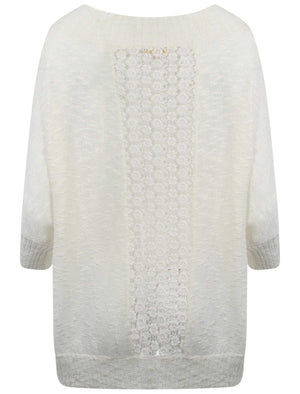 Plum Tree Grace white cardigan