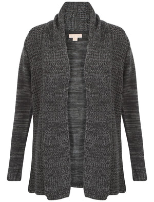 Plum Tree Oak Cardigan in Charcoal / Mid Grey