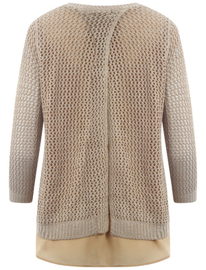 Plum Tree Sylvia Caramel Jumper