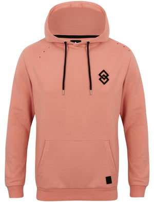 St Dismas Pullover Hoodie with Rips in Rose Tan – Saint & Sinner
