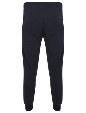 St Lewis Panelled Cuffed Joggers in Mood Indigo – Saint & Sinner