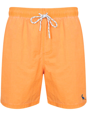 Ansdell Pigment Wash Swim Shorts in Yellow – South Shore