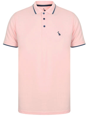 Baser Cotton Pique Polo Shirt In Blushing Pink – South Shore
