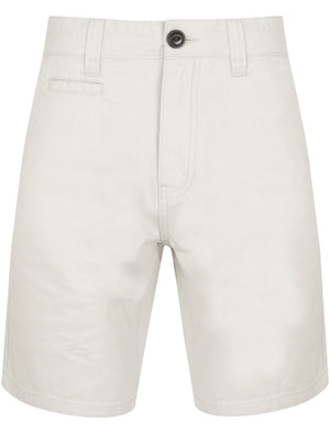 Billy's Bay Cotton Twill Chino Shorts with Peach Finish In Carolina Grey – South Shore