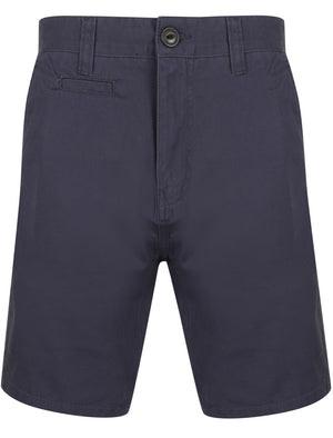 Billy's Bay Cotton Twill Chino Shorts with Peach Finish In Mood Indigo – South Shore