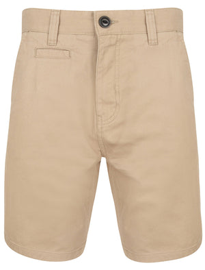 Billy's Bay Cotton Twill Chino Shorts with Peach Finish In Stone – South Shore