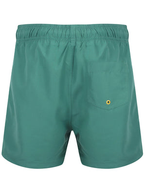 Graysen Swim Shorts In Mallard Green – South Shore