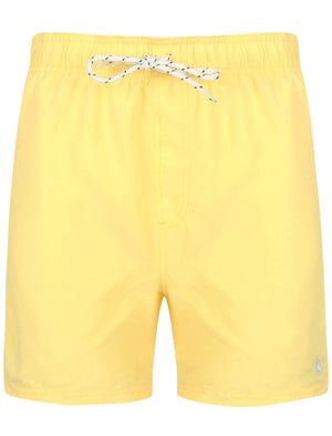 Graysen 2 Swim Shorts In Popcorn Yellow - South Shore