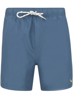 Graysen 2 Swim Shorts In Washed Blue – South Shore