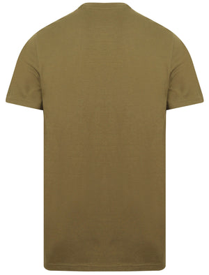 Kinsley Basic Cotton Crew Neck T-Shirt In Ivy Green - South Shore
