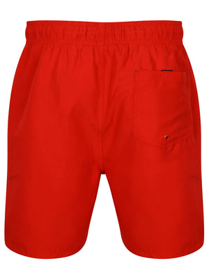 Wavertree Swim Shorts in Firebrick Red - South Shore