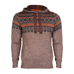 Tokyo Laundry Ash brown knitted hoody