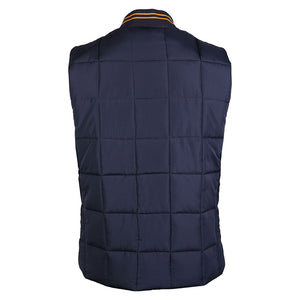Tokyo Laundry Fermat navy quilted gilet