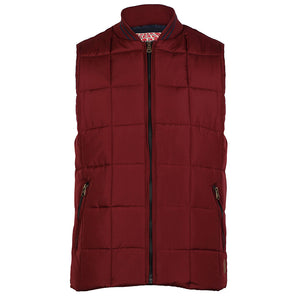 Tokyo Laundry Fermat red quilted gilet