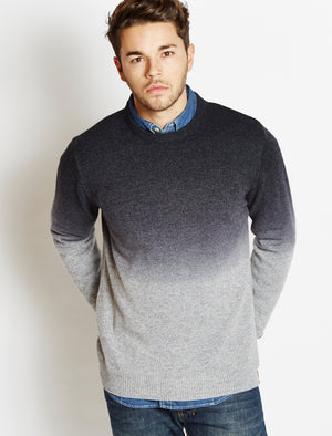 Tokyo Laundry Saw navy blue jumper