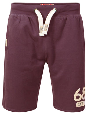 Willow Cove Sweat Shorts in Bordeaux Marl – Tokyo Laundry
