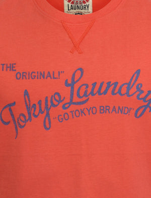 Tokyo Laundry Keith Red t-shirt