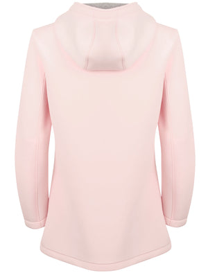 Pontoon Neoprene Hooded Mac Coat In Ballet Pink – Tokyo Laundry