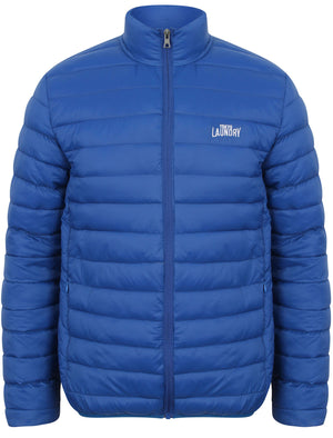 Tabor Quilted Puffer Jacket in Monoco Blue – Tokyo Laundry