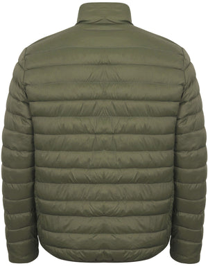 Tabor Quilted Puffer Jacket in Thyme Green – Tokyo Laundry