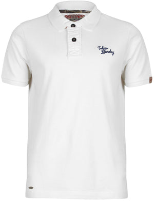Penn State Polo Shirt in Optic White - Tokyo Laundry