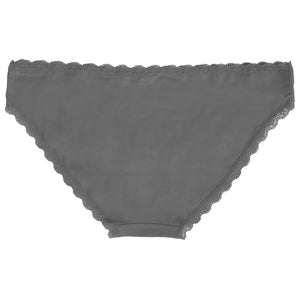 Perry (5 Pack) Cotton Lace Briefs In Navy / Pink / Dark Grey / Off White - Amara Reya