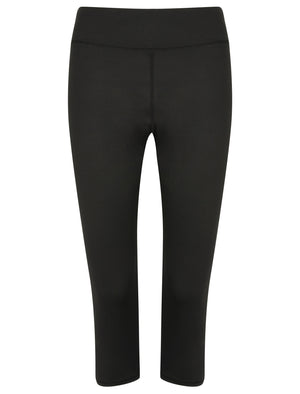 Honore Jersey Stretch Workout Capri Leggings in Black – Tokyo Laundry Active