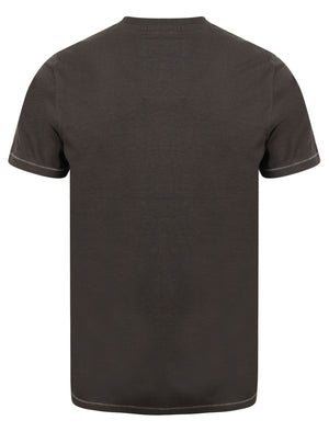 Alabama Cove Motif T-Shirt with Crew Neckline in Blackened Pearl - Tokyo Laundry