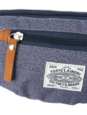 Alaska Island Canvas Cross Body Bag in Denim – Tokyo Laundry