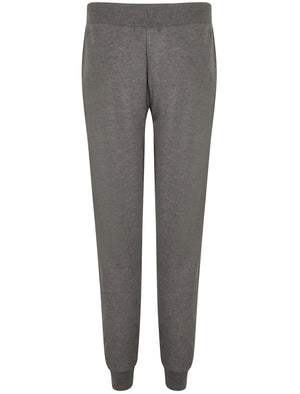 Albany Slim Fit Cuffed Joggers In Charcoal Marl – Tokyo Laundry Active