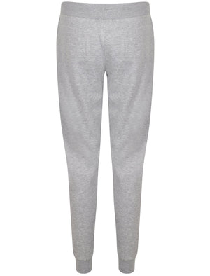 Albany Slim Fit Cuffed Joggers In Light Grey Marl – Tokyo Laundry Active