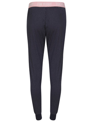 Amelie Polkadot Print Cotton Lounge Pants in Navy – Tokyo Laundry