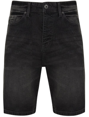 Anakim Denim Shorts in Dark Grey Denim Wash – Tokyo Laundry
