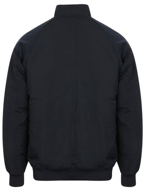 Athalstone Zip Up Padded Bomber Jacket in True Navy - Tokyo Laundry