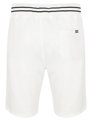 Axial Loop Back Fleece Jogger Shorts In Ivory - Tokyo Laundry