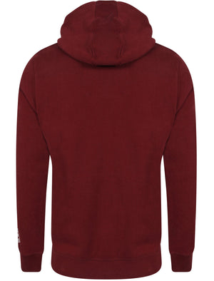 Baracoa Point Zip Through Hoodie in Oxblood – Tokyo Laundry
