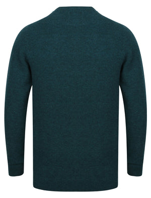 Bate Wool Rich Knitted Jumper in Teal – Tokyo Laundry