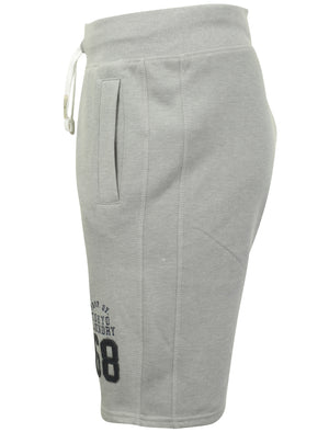 Beaverton Jogger Shorts in Light Grey Marl - Tokyo Laundry