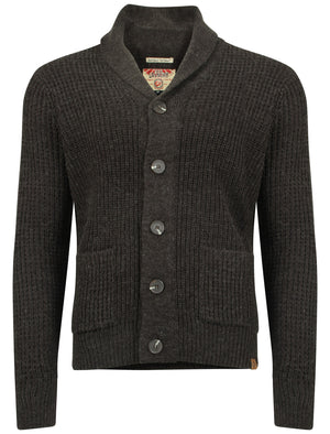 Tokyo Laundry Bramber charcoal knitted cardigan