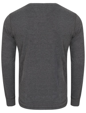 Brisk Applique Long Sleeve Top in Charcoal Marl – Tokyo Laundry