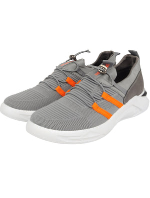 Catch Fly Knit Sports Style Running Trainers in Grey – Tokyo Laundry