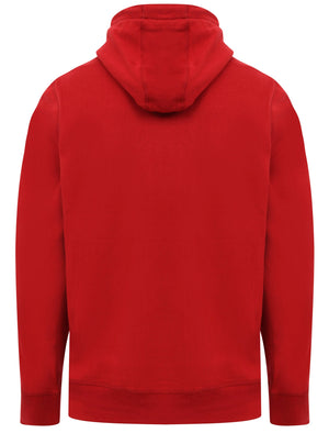 Cherryville Pullover Hoodie with Sporty Tape Sleeve Detail In Rio Red – Tokyo Laundry