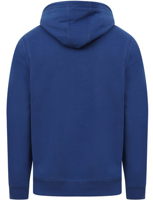 Cherryville Pullover Hoodie with Sporty Tape Sleeve Detail In Sodalite Blue – Tokyo Laundry