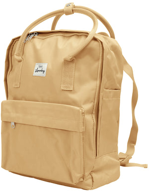 Claremont Classic Canvas Backpack In Stone – Tokyo Laundry